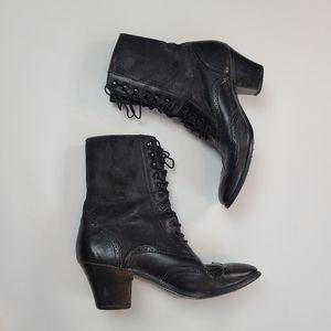 Vintage Dingo Lace Up Oxford Boots